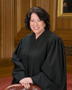 Supreme Court Justice Sonia Sotomayor '79 JD